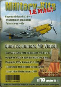 "e-magazine de maquettes ""Military-Kits"" Sitecouverture"