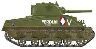 Sherman M4A4 Cyber-hobby 1/35  fini!!!!!!! - Page 7 Profil_droit_verdun_1804_conformepm